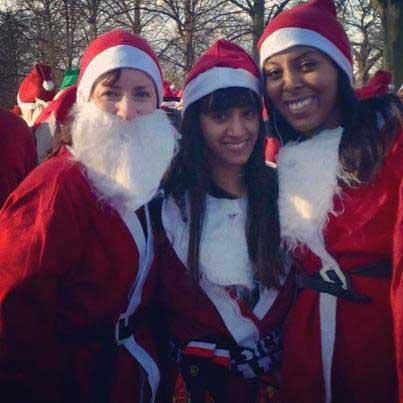 Javeena J Santa Run 2012